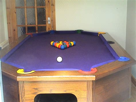 Wonderful Unique Pool Table Design Homesfeed Unique Pool Tables