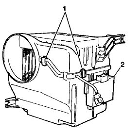 service manual [1994 geo metro blower motor removal