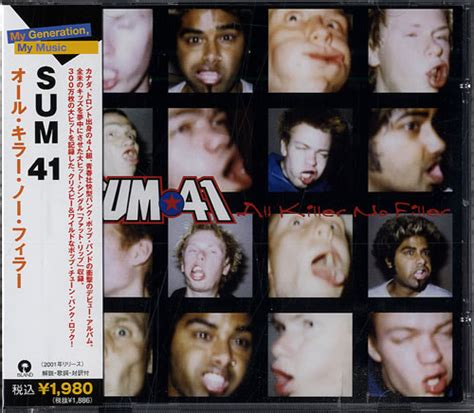 sum 41 all killer no filler records lps vinyl and cds
