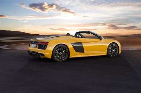 first audi r8 2017 audi r8 spyder first look review