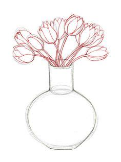 How To Draw Flowers In A Vase by 1000 Images About Aprender A Dibujar On Draw