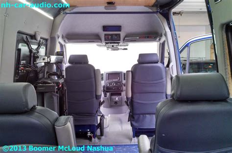 Mercedes Sprinter Custom Interior by Mercedes Sprinter 3rd Row Custom Interior View