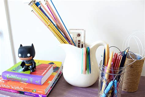 organize knitting supplies how to organize knitting supplies so they look like a