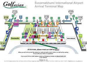 Car Rental Companies Bangkok Airport Suvarnabhumi Arrival Map Golfasian