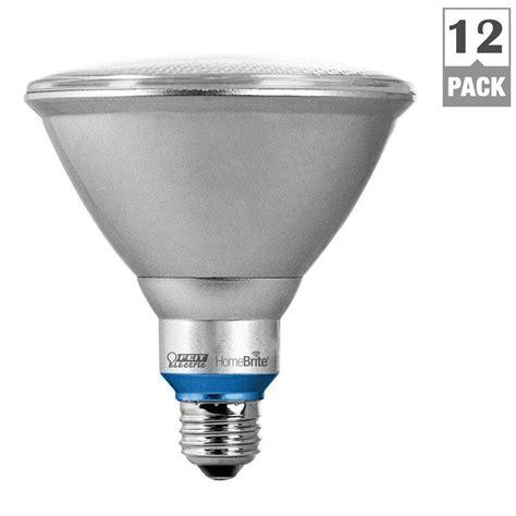 Par38 Led Flood Light Bulbs Feit Electric 90w Equivalent Soft White Par38 Dimmable Homebrite Bluetooth Smart Led Flood Light