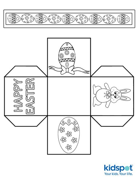 easter bunny basket template printable easter egg basket
