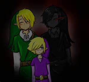 Red link x blue link yaoi link dark link and vio by