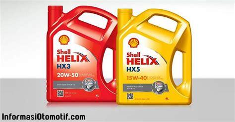 Paket Oli Mesin Avanza Shell Hx7 10w 40 4 Liter Filter Oli Redex daftar harga oli shell terbaru 2017 informasiotomotif