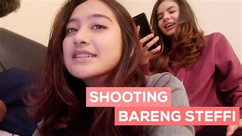 film ghost salshabilla shooting bareng steffi film ghost salshabilla vlog