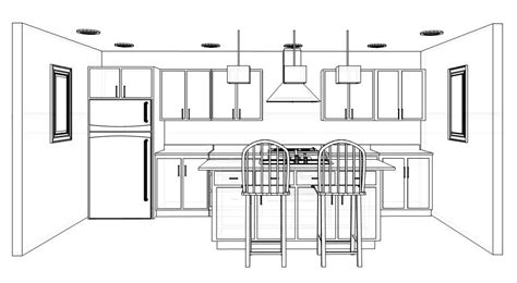 designing kitchen cabinets layout one wall kitchen with island design yahoo image search