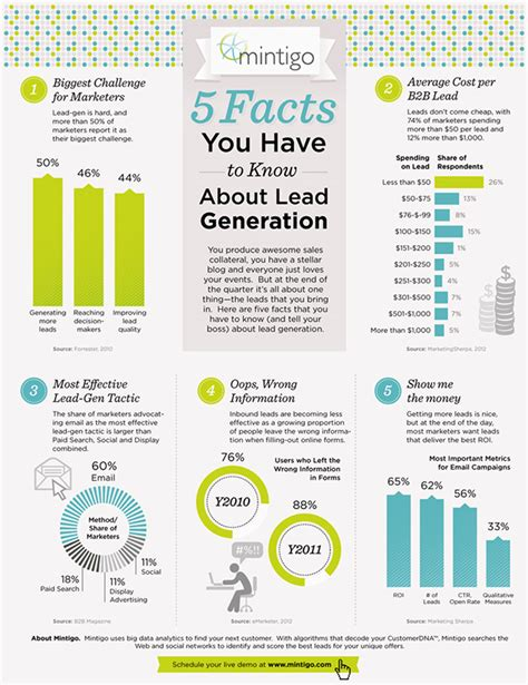 Mba Project Report On Lead Generation by Lead Generation Infographic On Behance