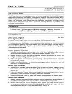 inventory analyst resume sle 11 warehouse resumes sle and resume template