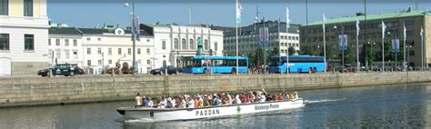 rib boat gothenburg paddan the small boats in the canals in gothenburg