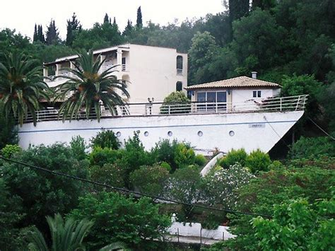 houseboat greece houseboat or house to look like a boat liapades photo