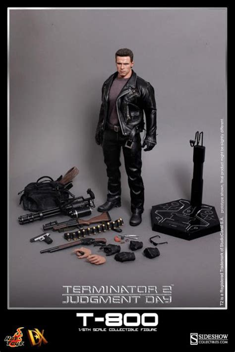 1 6 Scale Toys Dx10 Terminator T2 T800 Grey T Shirt toyhaven preview toys dx10 terminator 2 judgment 1