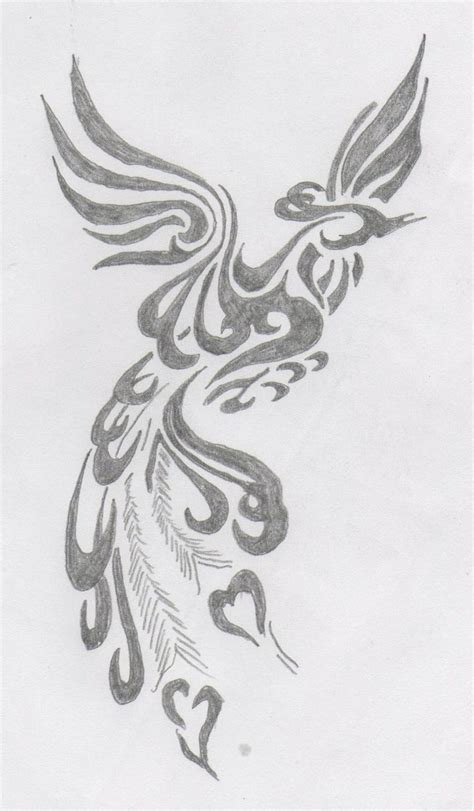 tribal pheonix tattoo 73 best images about on design