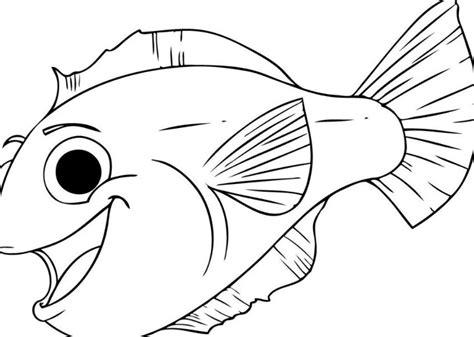 gambar keren mudah digambar gambar 20 gambar sketsa ikan paling keren mudah digambar