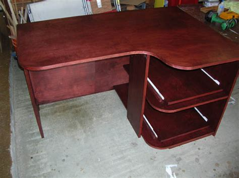 plywood corner desk plywood corner desk