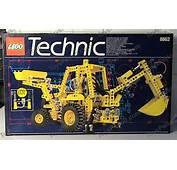 LEGO 8862 Backhoe Grader Set Parts Inventory And