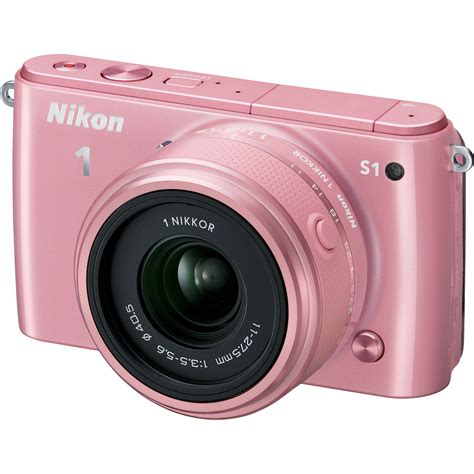 Kamera Digital Nikon Warna Pink nikon 1 s1 mirrorless digital with 11 27 5mm lens 27620