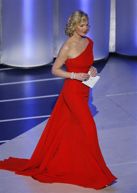 Katherine Heigl Looking Glam At The Academy Awards by Dresses Prevail On Oscars Carpet