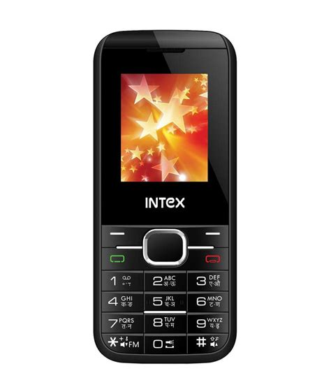 one mobile intex one mobile phone black price in india buy