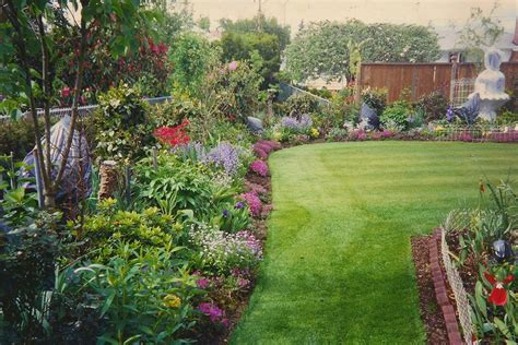 backyard flowers triyae com backyard flower bed design ideas various
