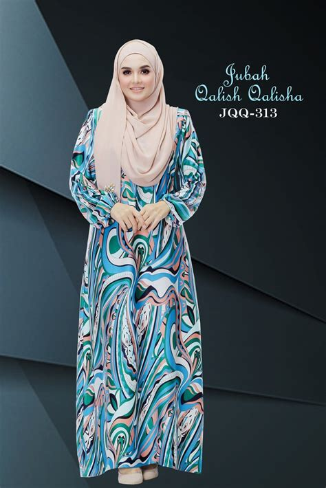 stail jubah dress muslimah home as syahid collections