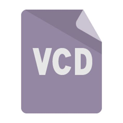 format vcd file format vcd icon