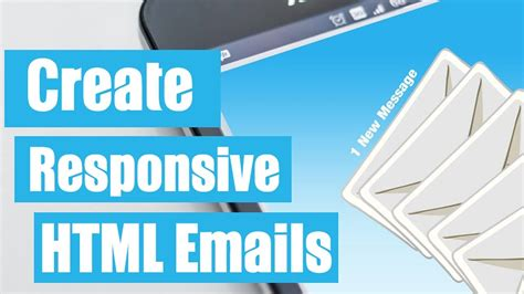 how to create html email templates how to create a responsive html email template