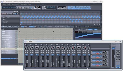 drum rhythm program hydrogen a free powerful drum machine musicainformatica org