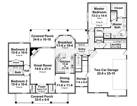 Westover House Plan Westover Country Home Plan 077d 0264 House Plans And More