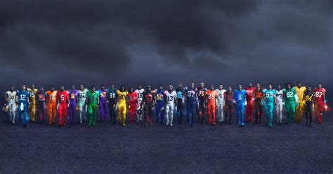 new color every nfl team got a new color this year but