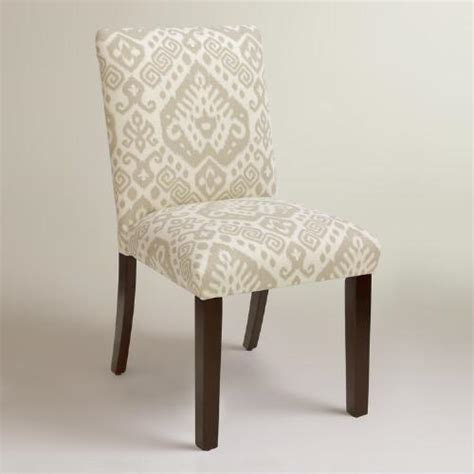 world market dining room chairs dove safi kerri upholstered dining chair world market