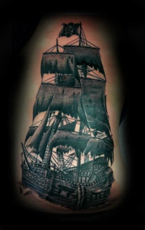 the black pearl tattoo the black pearl ship www pixshark images