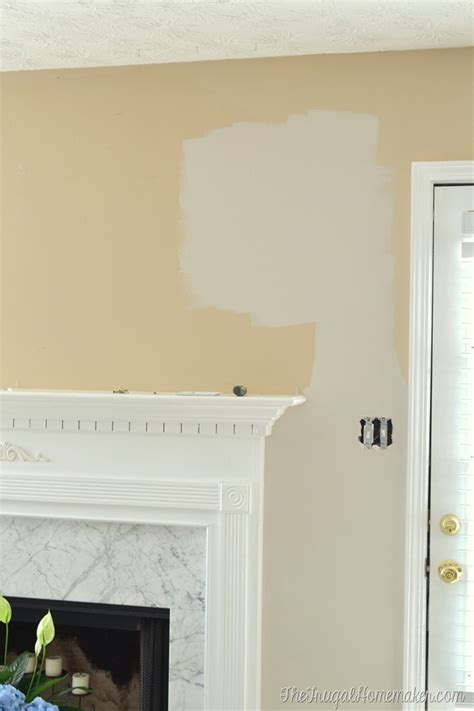 new paint in living room wheat bread by behr living
