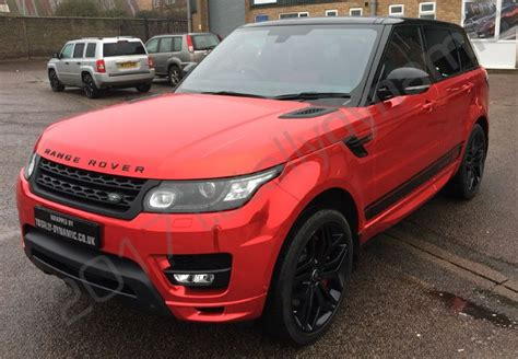 wrapped range rover autobiography totally dynamic range rover sport autobiography with a