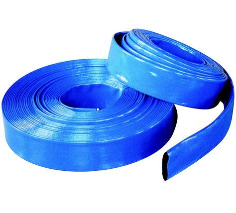 swimming pool lay flat backwash hose