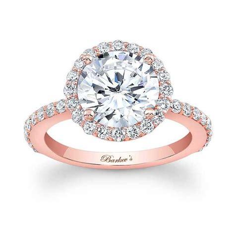 barkev s rose gold engagement ring 7839lp