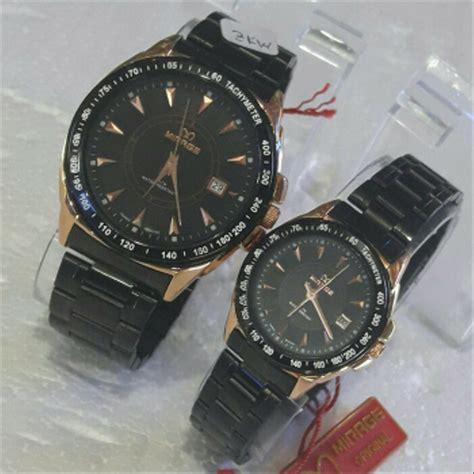 jual jam tangan fashion couple original mirage bonia casio