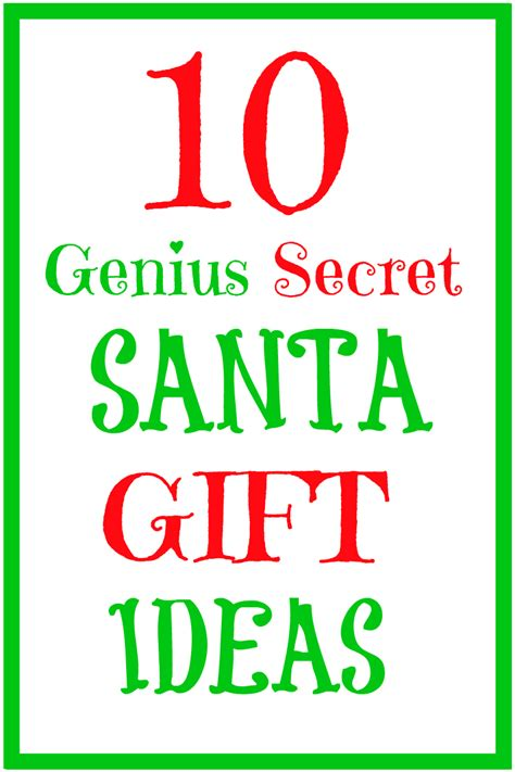 top 10 fantastic secret santa ideas