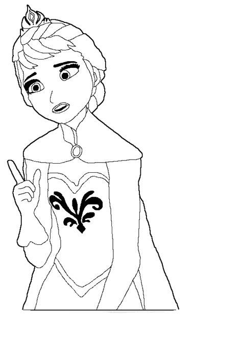 baby elsa coloring page desenhos do frozen para colorir desenhos do frozen para
