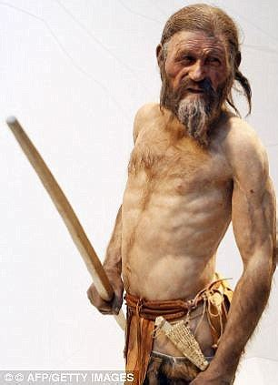 Ötzi the iceman's hidden tattoos uncovered with new camera