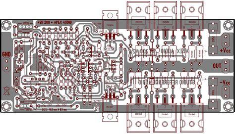 layout pcb yiroshi dk tech pcb audio power amplifier power amplifier