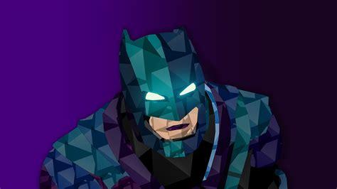 wallpaper batman low poly batman batman v superman dawn of justice dc comics low