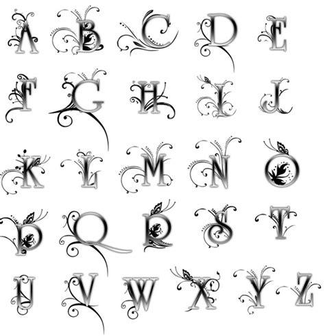 tattoo fonts editor foto editor floral fonts