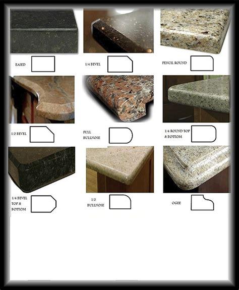 Granite Countertop Profiles by Granite