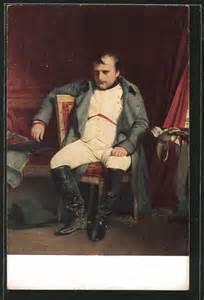 napoleons stuhl ak napoleon napoleon sitzt nachdenklich auf einem stuhl nr