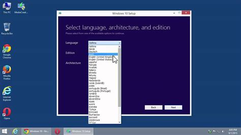 tutorial on microsoft windows 10 how to download windows 10 iso file original from
