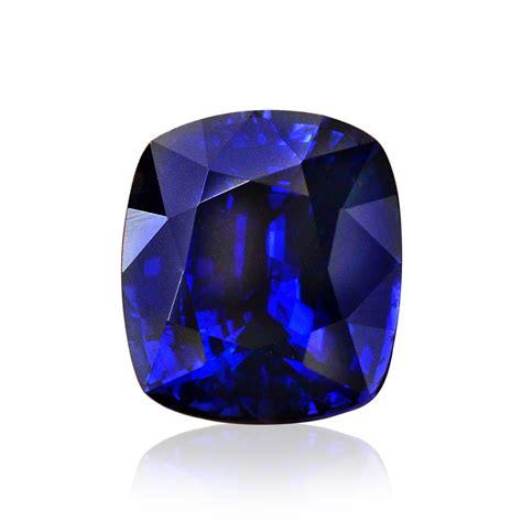 Saphire Blue Royal 3 47cts royal blue sapphire gemstone cushion cut grs